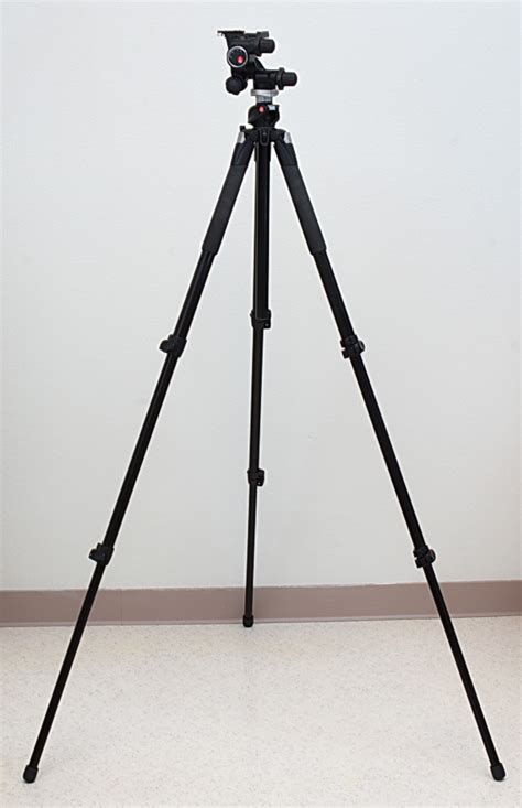 Tripod Manfrotto 055xprob manfrotto 055xprob tripod and 410 geared review