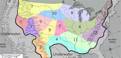 us map of hunger districts panem district 13