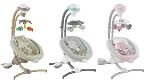 fisher price swing zoo fisher price recalls 30 000 cradle swings due to fall