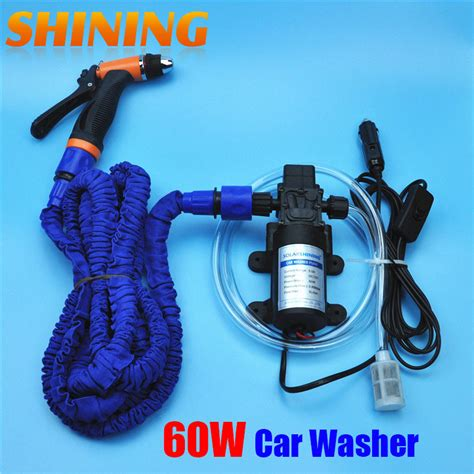 Pompa Washer Mobil popular 12v portable pressure washer buy cheap 12v
