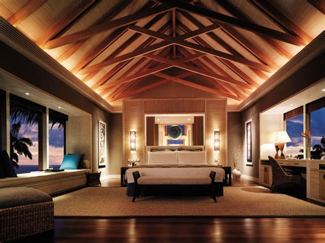 resort home design interior shangri la s villingili resort and spa maldives opens in