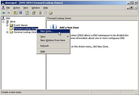 Forward Lookup Zone And Lookup Zone How Do I Install Active Directory On My Windows Server 2003 Server Petri