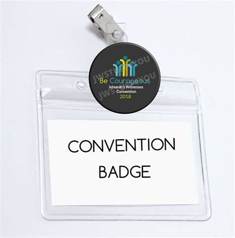 Convention Name Card Holder Template by 15 Best Jw Gift Ideas Jehovah S Witnesses Images On