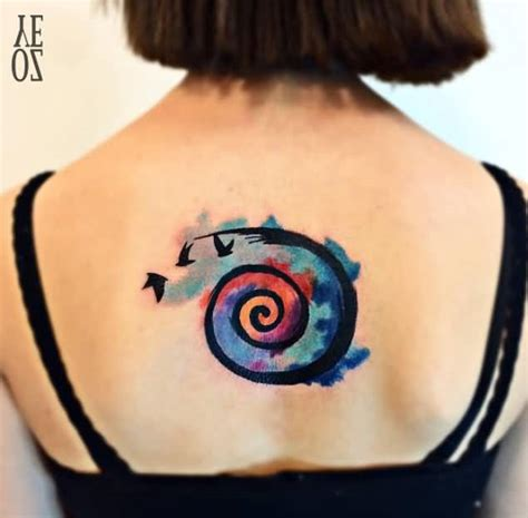 60 most popular spiral tattoos golfian com