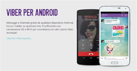 viber for android phone viber per android ios e windows phone come funziona e come installarlo guida