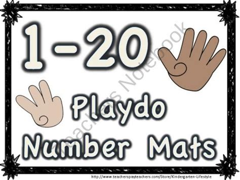 Play Doh Number Mats by 79 Best Images About Playdough Mats On Edible