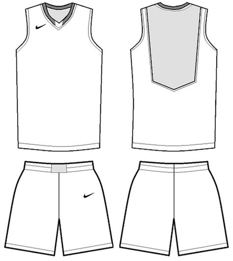 nike uniforms nike basketball uniform template