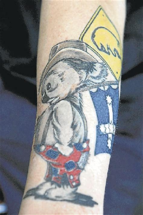 cartoon tattoo artist australia love of australia more than skin deep illawarra mercury