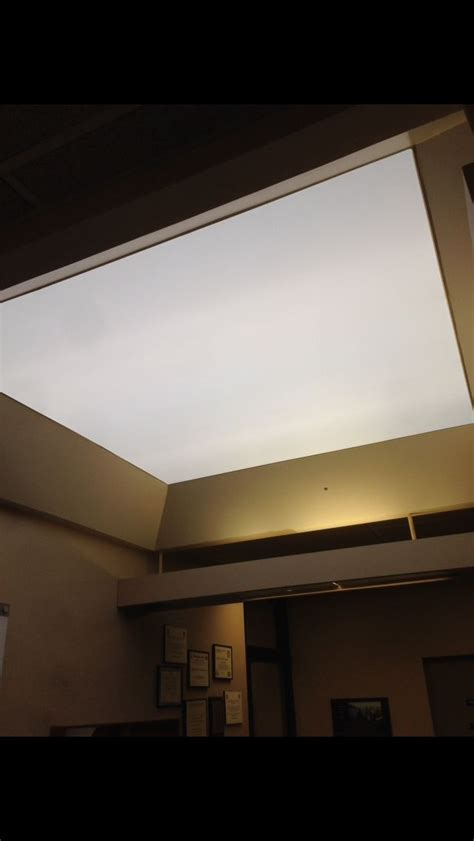 Translucent Ceiling by Skylights Closed With Translucent Stretch Ceilings