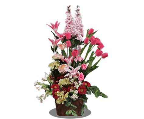 Meja Komputer Purwokerto bunga artificial