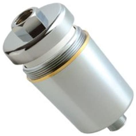 bath shower filter housing with filter h2o purified
