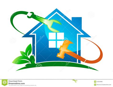 home design services free home service logo stock vector image 54034880