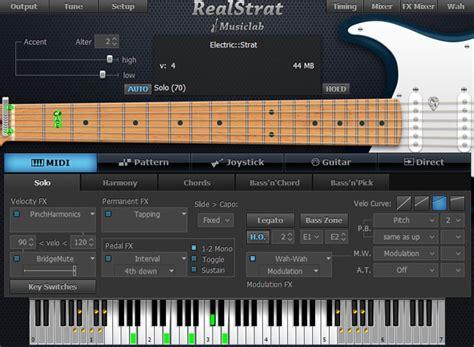 tutorial virtual guitar download plugin gitar realstrat