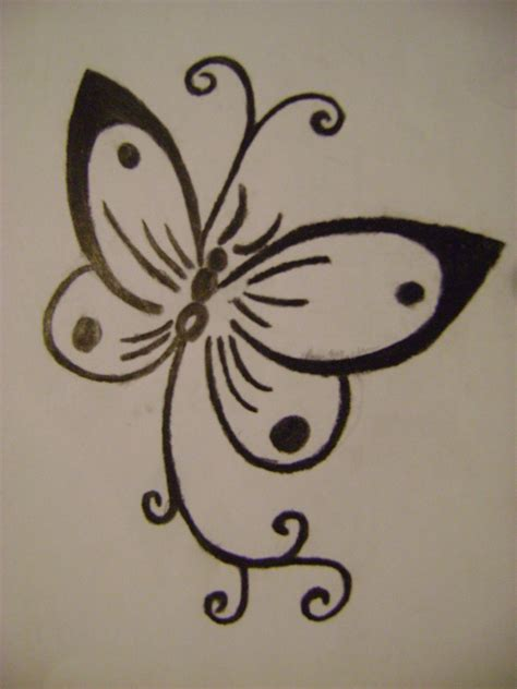 simple girly tattoo designs butterfly by vashta nerada91 on deviantart
