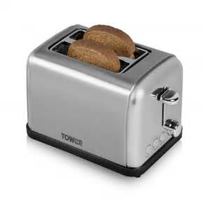 Next Toasters 2 Slice Stainless Steel Toaster Toasters
