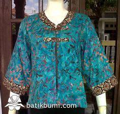 Blouse Blouse Batik Blouse Sogan Blouse Puff 1000 images about kebaya batik on kebaya indonesia and batik dress