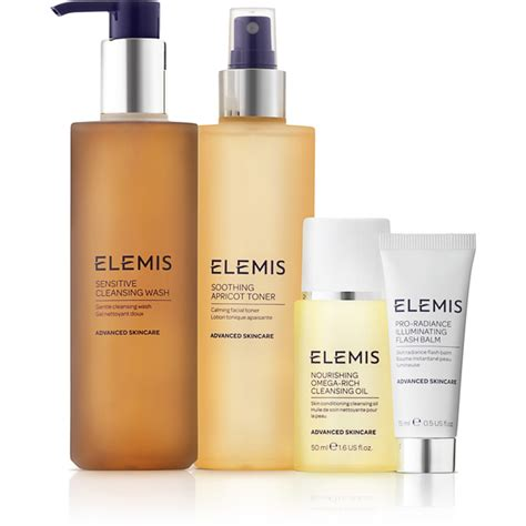 Does The Elemis Detox Products Work by Elemis Kit Sensitive Cleansing Collection Worth 163 62 75