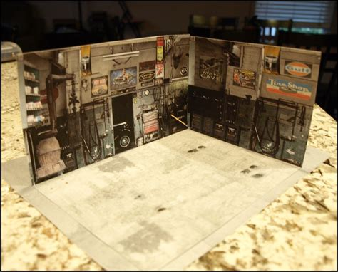 Jr Buildings And Garages by 1 64 Scale Garage Diorama Pictures To Pin On