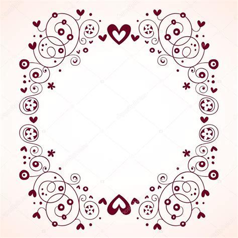 imagenes vectores gratis vintage corazones y flores marco de estilo vintage archivo