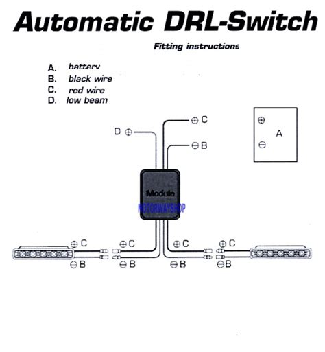 day time running light switch automatic on for drl l