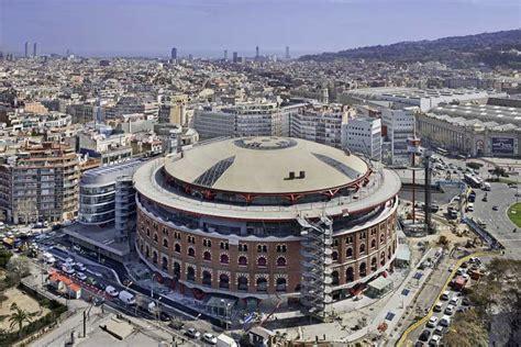Spanish Floor las arenas barcelona bull ring building catalonia e