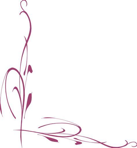 clipart bordi purple vine clip at clker vector clip