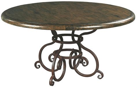 artisans shoppe 60 quot black forest dining table with