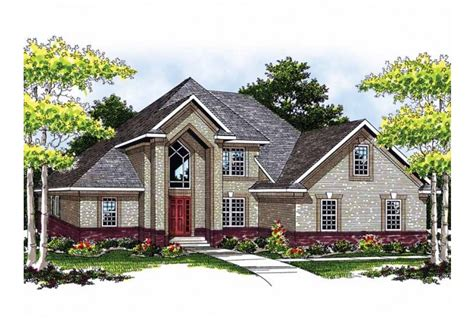 brick home floor plans 15 genius 2 story brick house plans house plans 33349
