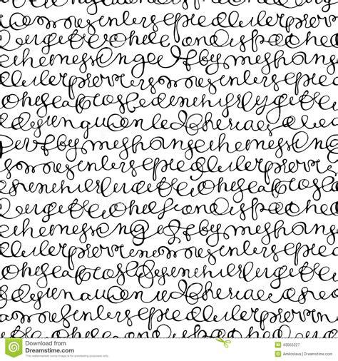 english pattern writing seamless texture stock vector image 43055227