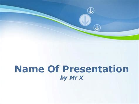 Arrows Business Background Powerpoint Template Themed Powerpoint Templates