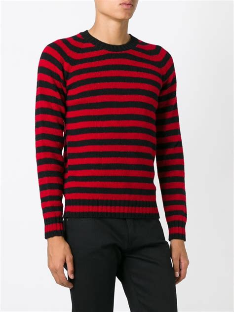 And Black Sweater black striped sweater sweater vest