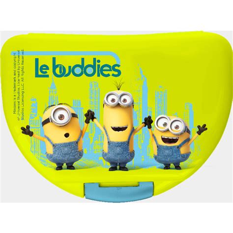 Eco Minion by Minions Brotdose Eco 16x12x6 5 Cm