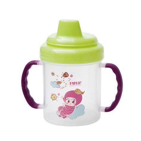 Botol Minum Farlin Non Spill Magic Cup Spout Green non spill magic cup mummybebe