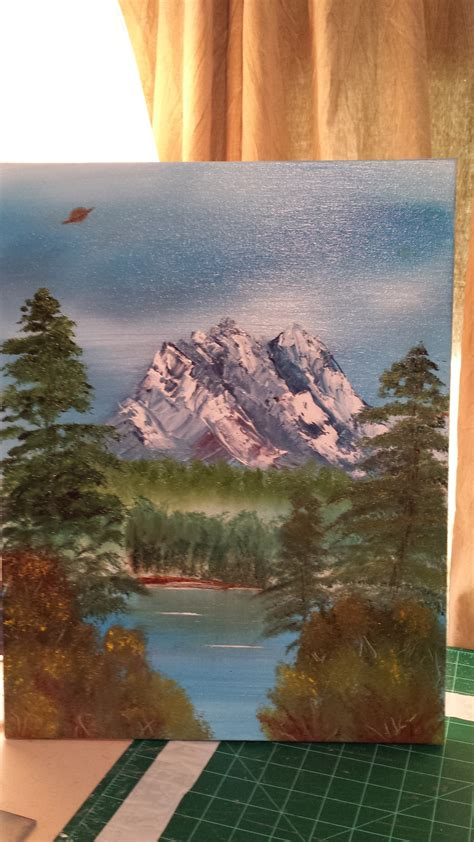 bob ross paintings how many things i learned while trying to paint like bob ross