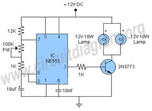 Lighting Circuit Of Car 12v Led Flasher Circuit Diagram 12v Get Free Image About