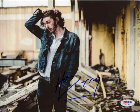 hozier us store hozier signed 8x10 photo certified authentic psa dna coa