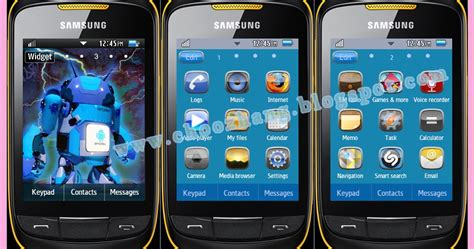 samsung mobile themes gt s3850 choozhang corby cat samsung corby 2 or s3850