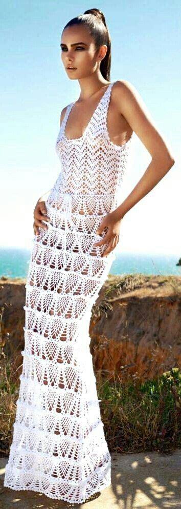 pattern white wedding dress wow 1000 images about crochet dresses on pinterest crochet