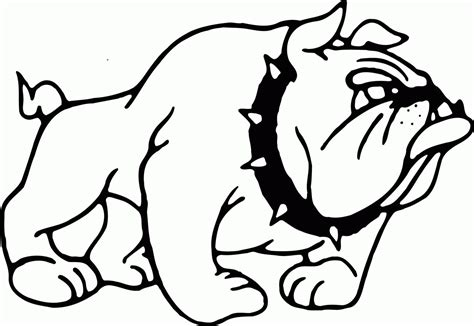 coloring pictures of bulldogs printable bulldog coloring pages coloring home