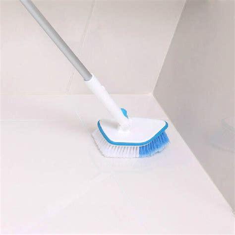 long handle bathroom cleaning brush buy retractable long handle bathroom kitchen cleaning