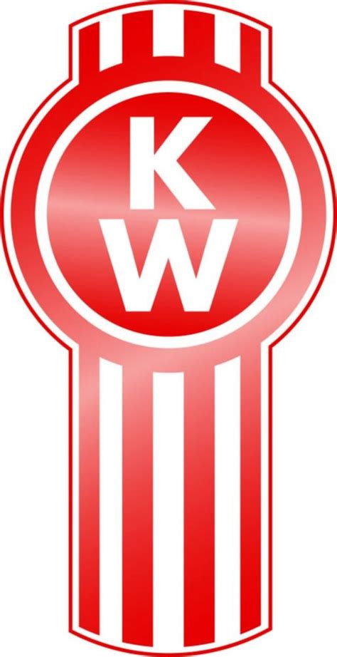 kenworth logo kenworth kw sticker decal 3 sizes semi truck car vinyl