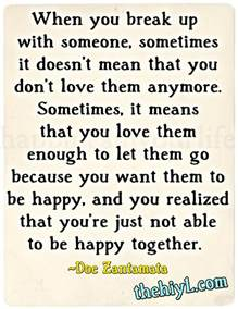 Love Quotes About Breaking Up by Breakuplife Com By Doe Zantamata Breaking Up With Love