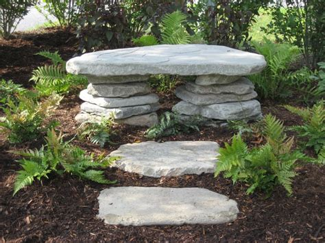 rock benches for garden best 25 stone garden bench ideas on pinterest