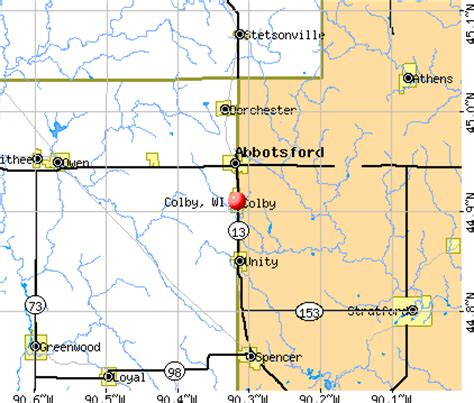 colby texas map colby texas map