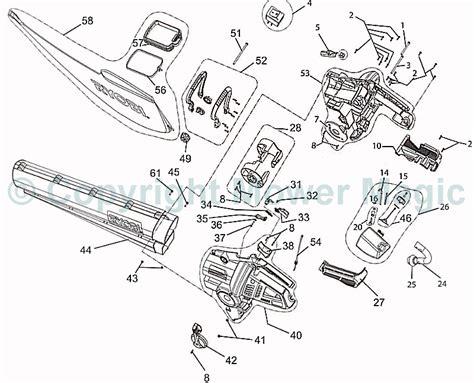 stihl leaf blower parts diagram echo leaf blower parts diagram echo free engine image