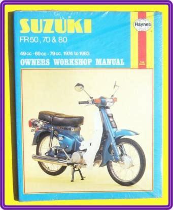 Racemangkok Komstir Suzuki Fr70 Fr80 manual haynes yamaha fr50 fr70 fr80 1974 1983