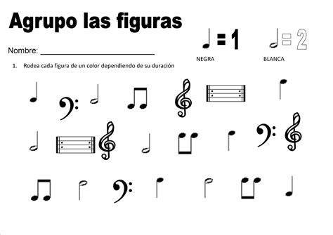 imagenes figuras musicales dibujos musicales figuras