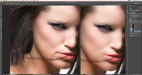tutorial edit foto retouch inverted high pass ihp retouching tutorial retoucher