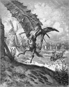 don quixote tilting at windmills wikipedia