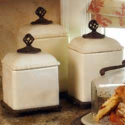 Kitchen Jars And Canisters Barcelona Canister Set Traditional Kitchen Canisters